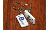Custom Domino Key Chain