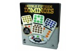 Double 15 Colored Dots Dominoes